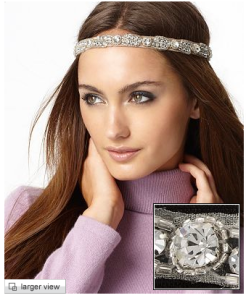 Weberline Couture Crystal Embellished Headband