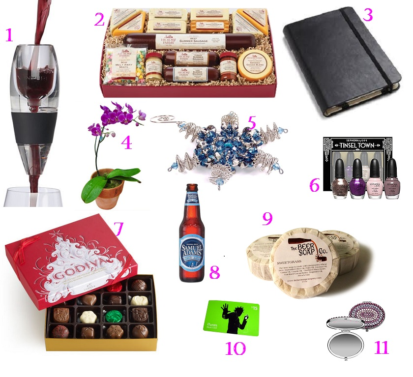 Wine ... - Gift Ideas For Co-workers Broke Girls' Therapy